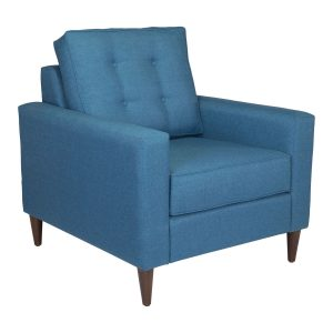 Cool Botanical Ottoman Blue Velvet Bella And Josh Unemploymentrelief Wooden Chair Designs For Living Room Unemploymentrelieforg
