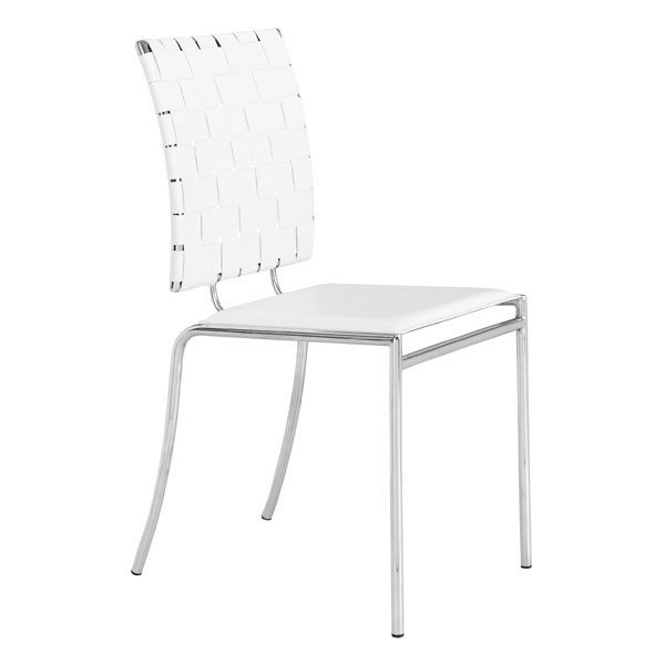Prime Criss Cross Dining Chair White Inzonedesignstudio Interior Chair Design Inzonedesignstudiocom