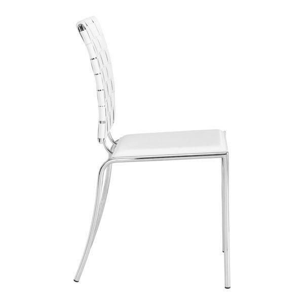 Tremendous Criss Cross Dining Chair White Inzonedesignstudio Interior Chair Design Inzonedesignstudiocom