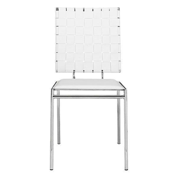 Astounding Criss Cross Dining Chair White Inzonedesignstudio Interior Chair Design Inzonedesignstudiocom