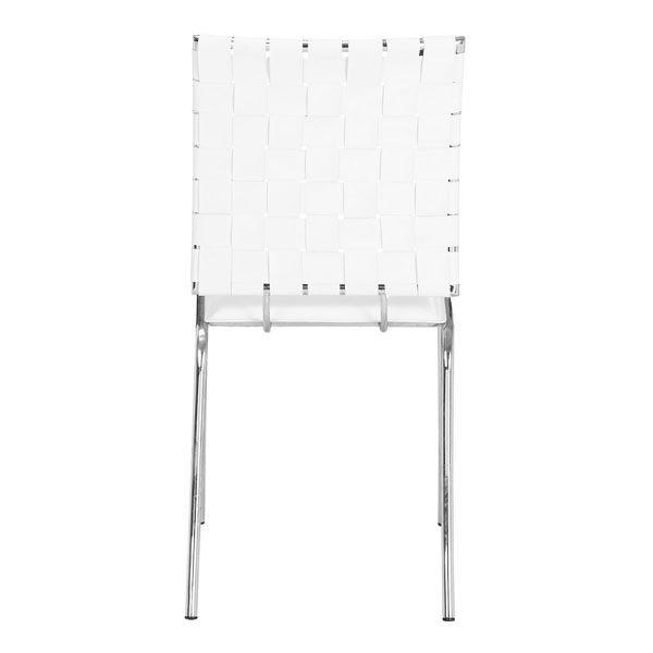 Stupendous Criss Cross Dining Chair White Inzonedesignstudio Interior Chair Design Inzonedesignstudiocom